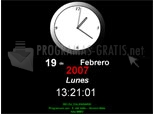 Télécharger Économiseur d'écran Horloge Calendrier 1.0