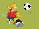 Homer  Footballeur