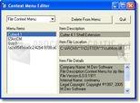 Context Menu Editor 1.0