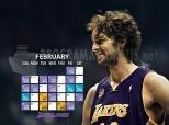 Imagen de Pau Gasol no Los Angeles Lakers
