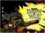 Dawn of War: Ork Blast Screensaver.