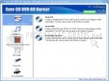Cute CD DVD BD Burner Express 1.0