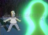 Homer y el extraterrestre