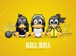 Kill Bill Tux Wallpaper