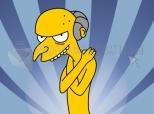 Señor Burns desnudo