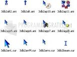 Download 3D Blue Animated Cursors 1.0f