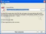 PDF to HTML converter 1.0
