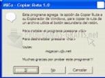 CopiaIndirizzo 1.0
