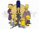 Imagen de Simpson famiglia Addams