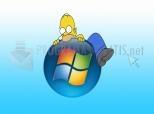 Homer Simpson vs Windows