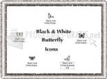 Papallona en blanc i negre