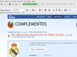 Official Real Madrid Toolbar 10.13.1.89