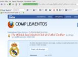 Imagen de Official Real Madrid Toolbar