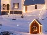 Imagen de Fiocchi di neve che cadono a Natale