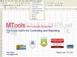 MTools Excel AddIn 1.09