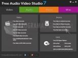 Free Audio Video Studio 8.6.1