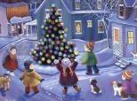 Imagen de Children around the Tree wallpaper