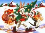 Fond Noël Bugs Bunny