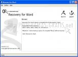 Recovery for Word 4.0.1298