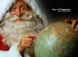 Papa Noel Merry Christmas Fons