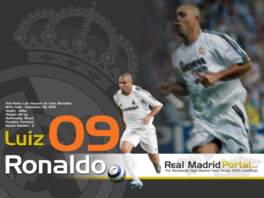 Papel de Parede Real Madrid: Ronaldo