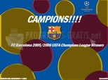 F.C. Barcelona - Champions League 2006
