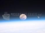 La Lluna des de l'Espai