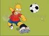 Download homer jogando futebol