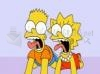 Download bart e lisa assustados