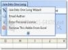 Download excel line to one
