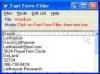 Download fast form filler
