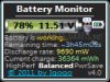 Download battery monitor