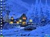 Download 3d snowy cottage a wallpaper