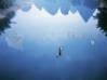 Download wallpaper lago solitario