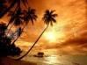 DESCÀRREGA posta de sol a la platja