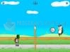 Download penguin volleyball