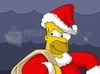 Download homer santa claus