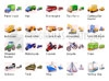 Download transport icon set