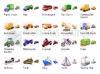 Download transport icon set