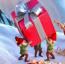 Bosque, enanos y Navidad