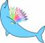 Desktop Dolphin Coloring Book