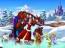 La bella y la bestia en Navidad