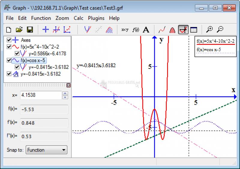 Pantallazo Graph
