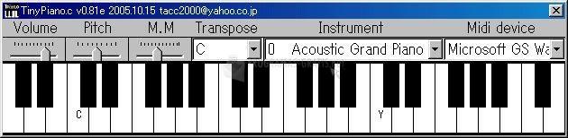 Pantallazo Tiny Piano