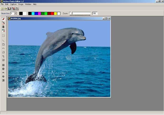 Pantallazo Image Effects