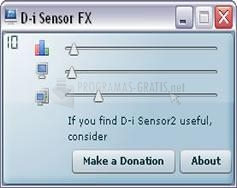 Pantallazo D-i Sensor