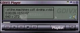 Pantallazo Global DivX Player (GDivX)