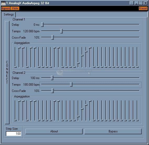 Pantallazo Audio Arpeg