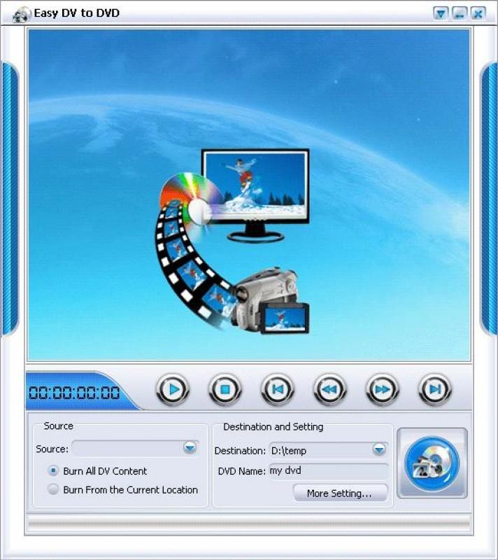 Pantallazo Imtoo Easy DV to DVD