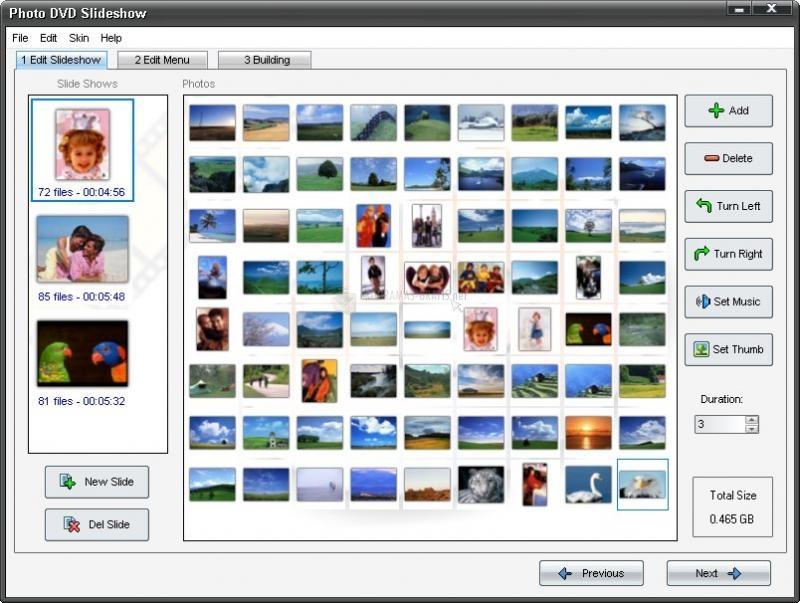 Pantallazo Adusoft Photo DVD Slideshow